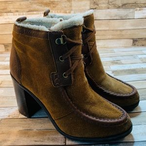 SAM EDELMAN || Lovely Suede Booties